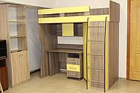 Кровать-чердак со столом, фото 1