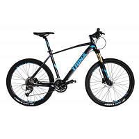 "Велосипед Trinx X1 26""х19"" Matt-Black-Black-Blue (10030026)"