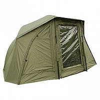 Карповая палатка-зонт ELKO 60IN OVAL BROLLY+ZIP PANEL