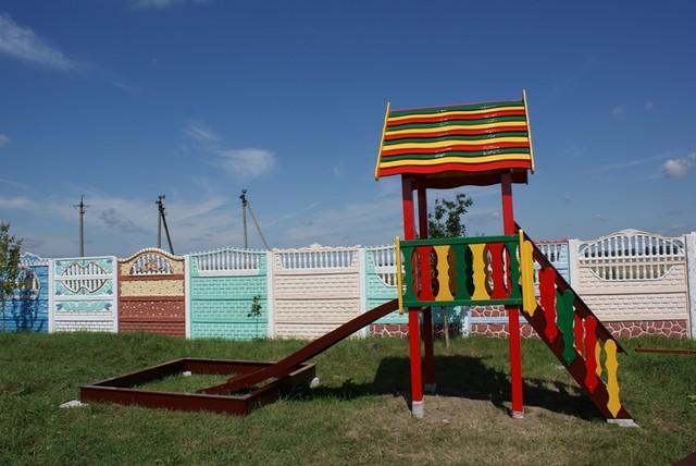 Детская игровая площадка для малышей