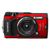 Цифровая камера OLYMPUS TG-5 Red (Waterproof - 15m. GPS. 4K. Wi-Fi)