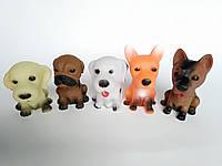 Гумові собачки з пискавкою, фото 1