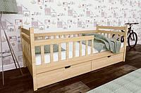 Кровать детская деревянная Буратино из натурального Бука, фото 1