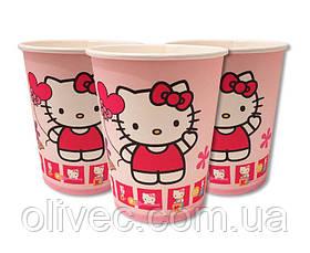 """Стаканы одноразовые бумажные """"Hello Kitty"""""""