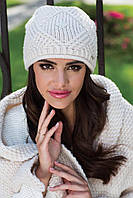 Paula зимняя женская шапка Kamea, светлый беж цвет