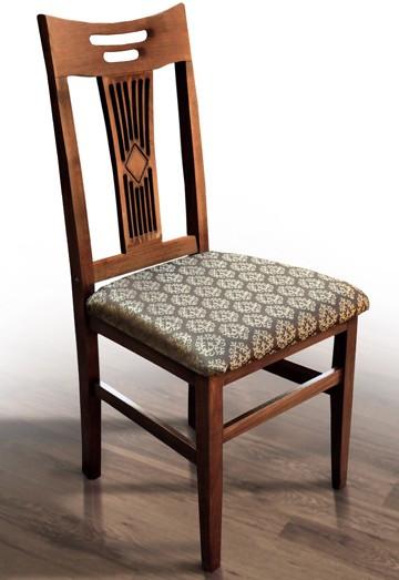 Обеденный стул Юлия Микс, деревянный