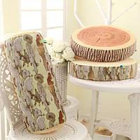Мягкая подушка в виде дерева с реалистичным рисунком