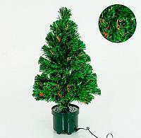 Настольная елка декоративная электрическая 65 см