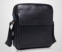 Мужская стильная кожаная сумка VIDENG POLO New. Сумка-планшетка - сумка через плечо.
