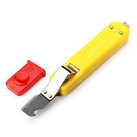 Ly25-6 8-28mm жильный кабель зачистки нож с крючком лезвия