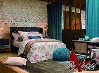Комплект постельного белья сатин полуторный TM Tag 04354