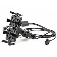 Мотоциклетный навигатор GPS для телефона U-образный кронштейн с зарядным устройством 1TopShop