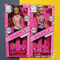 Кукла шарнирная на героскутере (смартве) в кор 15,5*33,5*5,5см
