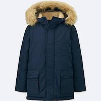 Темно-синяя куртка Uniqlo