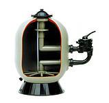 Фильтр песочный PRO с боковым клапаном. 762 мм, 250 кг песка, фото 2