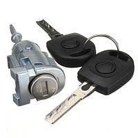 2 ключа полный комплект замок двери передней левой НФС со стороны переднего пассажира для VW