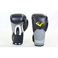 Перчатки боксерские кожаные Everlast PRO STYLE ELITE 12 oz. (BO-5228-BK(12))