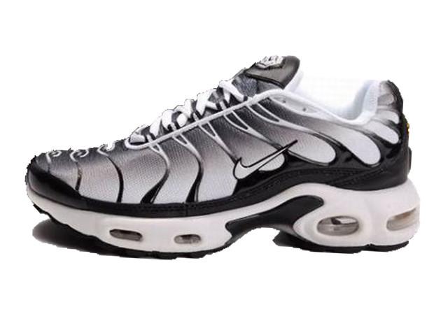 1baa33ac Мужские кроссовки Nike Air Max 95 TN Plus Grey/Black/White (Реплика ААА
