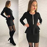 Платье с баской 29 11