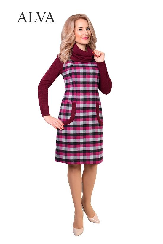 Платье женское из шерсти Жанетт