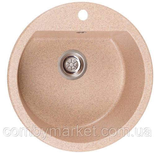 Кухонная мойка Галац KOLO PIESOK (301), 51х51х19,2 см