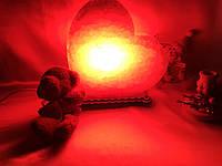 Соляная лампа сердце маленькое