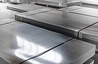 Лист н/ж 304  1,0 (1,0х2,0) рифл BA+PVC