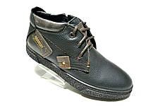Зимние мужские кожаные ботинки Zangak Exclusive , фото 1