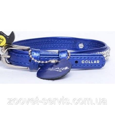 Ошейник для собак малых пород COLLAR brilliance без украшений, ширина 9мм, длина 18-21см, фото 2