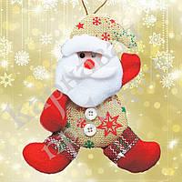 Подвеска мягкая Дед Мороз (красный)
