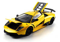 Машинка р/у 1:18 Meizhi лиценз. Lamborghini металлическая (желтый)