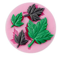 Отель mapple листьев fondant силикона прессформы сахар ремесло украшения торта прессформы