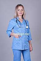 Модные медицинские костюмы (коттон) 3207