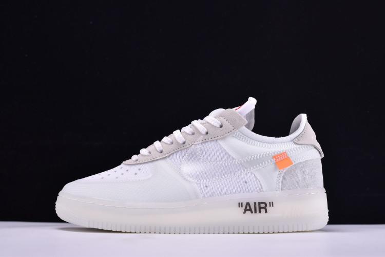 527f36095be9 Кроссовки Nike Air Force 1 Low х Off White найк аир форс AO4606-100 реплика