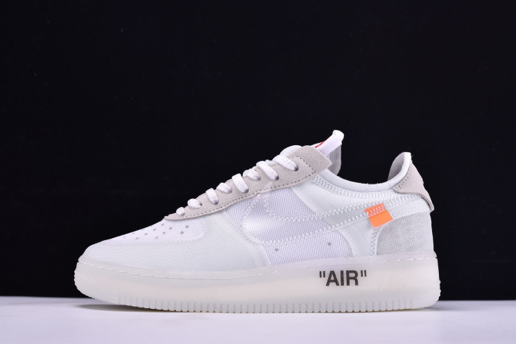463ed1a8 Кроссовки Nike Air Force 1 Low х Off White найк аир форс AO4606-100 реплика