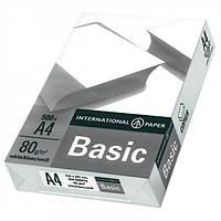 Бумага BASIC A4  80 g/m2 white 500 листов