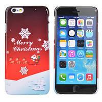 Рождественский подарок Рождественский сладкий Pattern задняя крышка крышка для iPhone 6