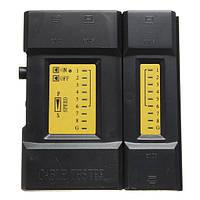 Портативный ручной провода RJ45 RJ11 сети Ethernet LAN кабель тестер