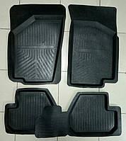 Коврики автомобильные для ВАЗ Lada Kalina (Лада Калина) резиновые.