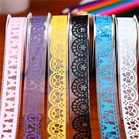 5 штук поделки кружева бумажная лента маскировки клей липкий декор