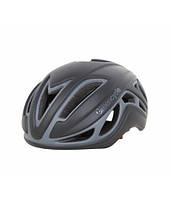 Шлем Green Cycle Jet для шоссе/триатлона черно-серый матовый
