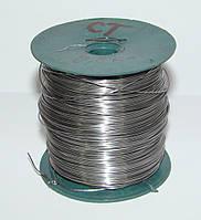 Проволока стальная 0.5 кг (диаметр 0.5 мм, длина 324 м)