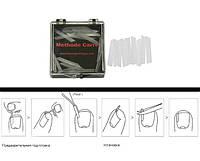 Комплект для лечения вросших ногтей. METHOD CARRÉ(Набор из 20 единиц канюль) Fresco(Испания)