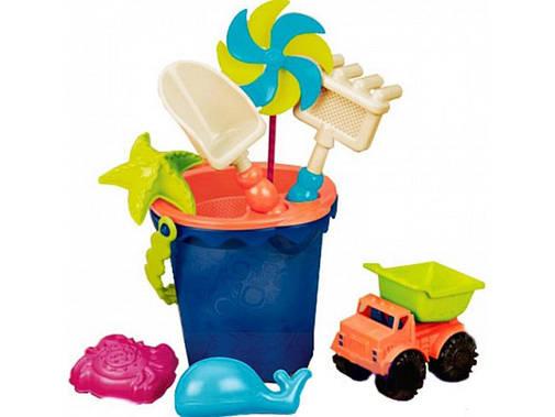Набор для игры с песком и водой - ВЕДЕРЦЕ МОРЕ BX1330Z, фото 2