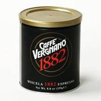 Натуральный итальянский молотый кофе Caffe`Vergnano ж\б 250гг