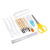 14шт набор ручного инструмента для ручной работы глиняный промысел творения