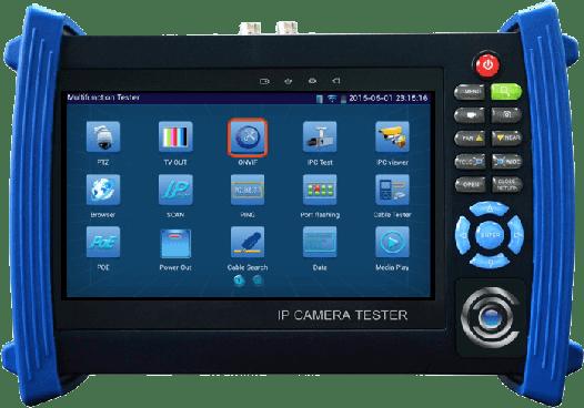 Тестер видеосигнала с сенсорным экраном RV-ZTest17-50W