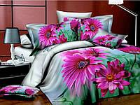 Комплект постельного белья Мерцание, сатин панно 3Д (фотопринт)
