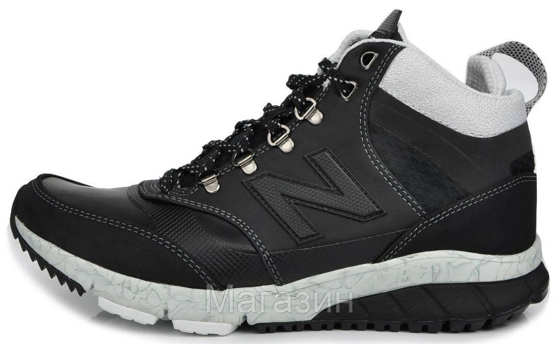 Мужские зимние кроссовки New Balance HVL 710 AE Vazee Black Нью Баланс 710 в стиле черные