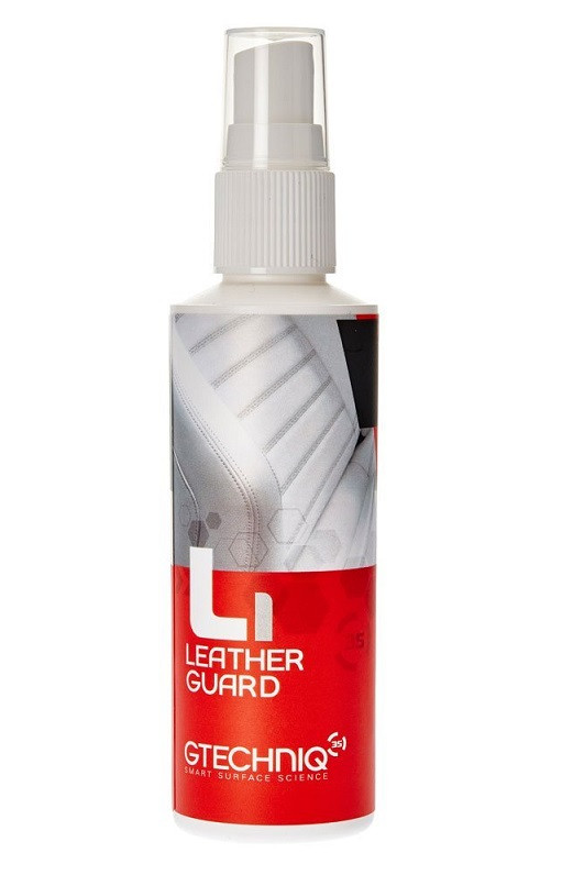 Gtechniq L1 leather guard защитное покрытие для кожи в салоне
